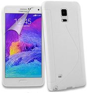 Samsung Galaxy Note 4 S Line Silicone Gel Case Cover