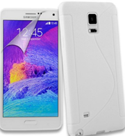 Samsung Galaxy Note 4 Silicone Gel Case Cover
