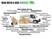 Man with Van Service in UK - London