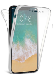 TPU Gel Clear Case Cover for iPhone Series