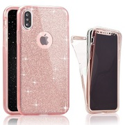 Glitter Bling Soft 360 Cover Case for iPhone 7/8