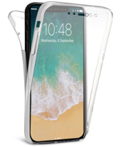 iPhone Series 360° TPU Gel Clear Case Cover