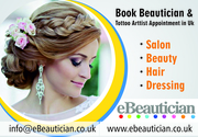 Book salon and tattoo artist appointment online - Ebeautician