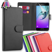 Leather Wallet Flip Phone Case Cover for Samsung Galaxy J3