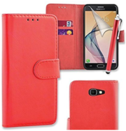PU Leather Flip Wallet Case Cover Pouch for Samsung Galaxy A3 (2017)