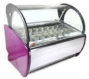 Energy Efficient Ice Cream Display Freezer