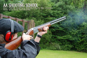 Clay Shooting Holidays from AA Shooting School,  Dorset,  UK