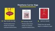 Plastic Bags Printing in UK - Airborne Packaging