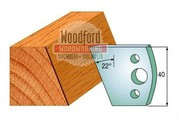 Profile 001 Spindle Moulder Cutters - 40mm Profile Knives Online