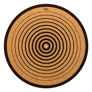 Single Professional Grade Circle Cork Slipmat – Glowtronics