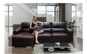 Get High-Quality Bonded Leather Corner Sofa at a Convenient Price- Fur