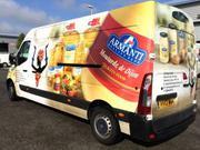 Attractive Vehicle Branding Service in UK