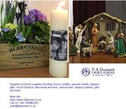 Church Candles and Religious Gifts Suppliers in UK