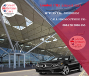 Great Britain cars- London airport taxi service