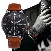 Quartz wristwatches for the man of class.