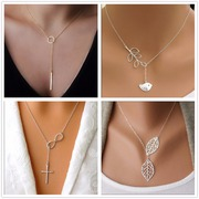 Match your outfits with leaf pendants necklaces by 14xpress