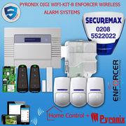 PYRONIX ENFORCER WIRELESS ALARM SYSTEM DIGI WIFI APP KIT-B