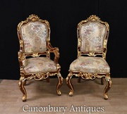 Buy Pair Louis XVI Chairs - Arm and Side Chair