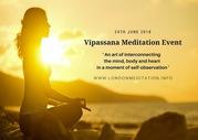 Vipassana Meditation Event