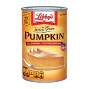 Libby's 100% Pure Pumpkin 425g (15oz) - American Import