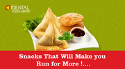 Order Indian Vegetable Samosa in London,  UK - Oriental Foods