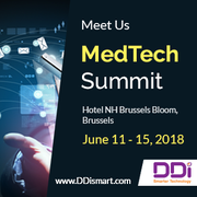 Meet DDi at MedTech Summit 2018 in Brussels