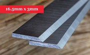 Planer Knives 16.5mm x 3mm-410mm long x 16.5mm high x 3mm thick online