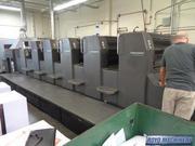 Offset Press Heidelberg Speedmaster SM 74-5 + L