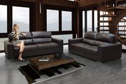 Stylish and Contemporary Wagner 2 + 3 Seater Bonded Leather Sofa Set