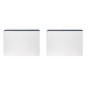 Buy Bespoke Engraved Round and Rectangular Solid Silver Cufflinks