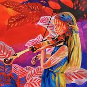 Dostrojenie Painting By Anna Masiul-Gozdecka