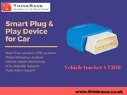 Stop worrying about your car with OBD Car Tracking Device VT200