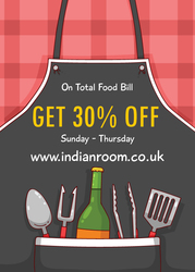 Reserve a Table & Get 30% Discount @ Indian Room