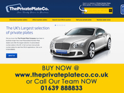 The Private Plate Company - Cheap Private plates