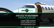 Ash Vale To Heathrow 50.00