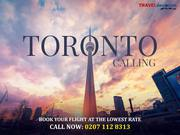 Flights from London to Toronto in 2019