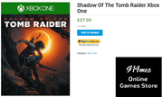Want to Buy the Latest Tomb Raider Xbox one,  Visit Our Online Store
