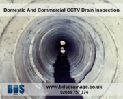 Domestic And Commercial CCTV Drain Inspection - Call Us 02036 757 174