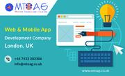 Top Web & Mobile App Development Company London,  UK | Mtoag