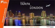 Cheap Flight to Tampa from London Gatwick 2019-2020