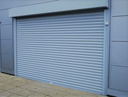 360-degree security with fire rated roller shutter door
