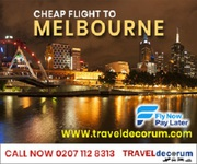 Book Cheap flights to Melbourne from UK today(0207-112-8313 )