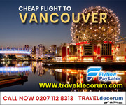 Non stop(direct) cheapest flights UK to Vancouver