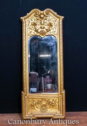 Get This Antique Elegant French Empire Pier Mirror For Your Home Onlin