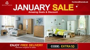 Save Big!! January Furniture Sale Up to 75% Off on Bentley Designs