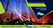 Cheap flight to Toronto from UK