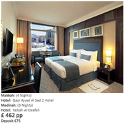 3 Star 14 Nights Ramadan Umrah Package
