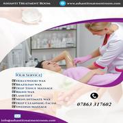 Beauty Salon London | Ashanti Treatment Room