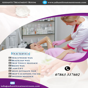 beauty salon in London | Ashanti Treatment Room