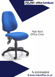 A simple office chair with a modern style